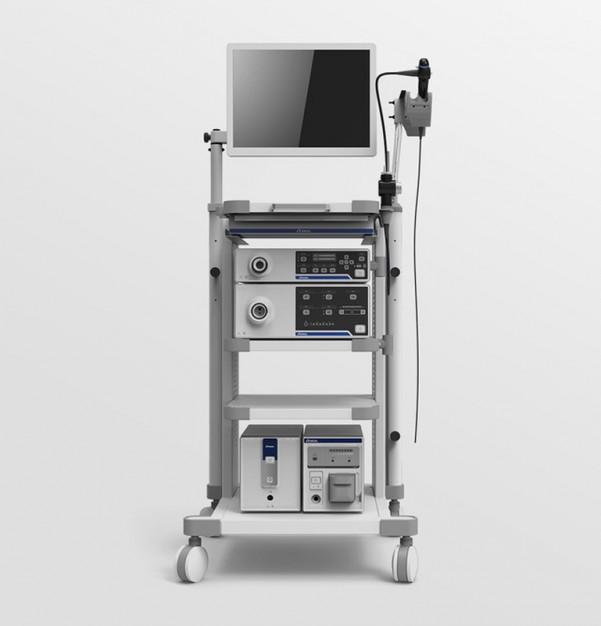 Gastroscopy colonoscopy endoscopic column ЛОРАН Expert